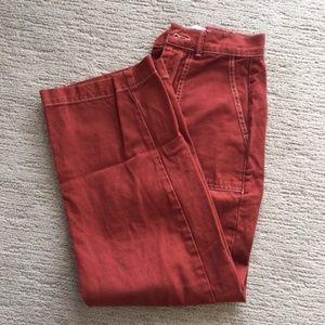 BDG Contrast Stitch Workwear Jeans, Size 24